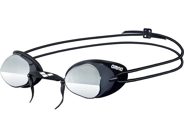 arena Swedix Mirror Goggles, zwart